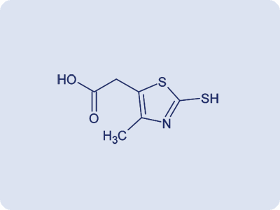 2-(2-Mercapto-4-methylthiazole-5-yl)acetic acid