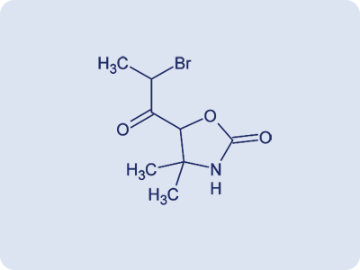 3-(2-Bromopropionyl)-4,4-dimethyl-1,3-oxazolan-2-one