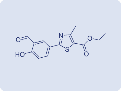 Ethyl 2-(3-formyl-4-hydroxyphenyl)-4-methyl thiazole-5-carboxylate